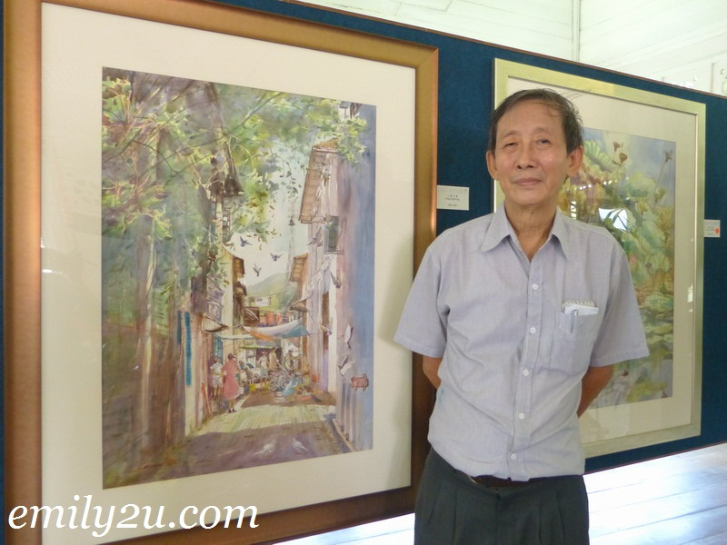 Watercolour Art Exhibition 2012 by Loo Win