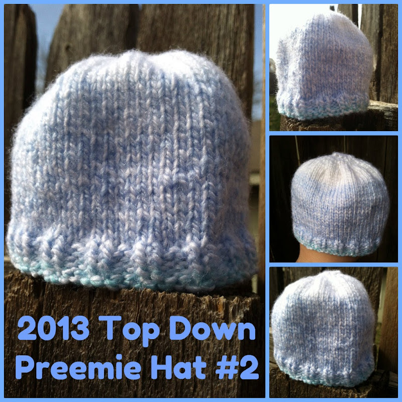 2013 Top Down Preemie Hat 2