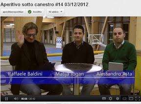 Trieste: coach Matija Jogan (Interclub Muggia) post Udine e sull'Acegas Aps Trieste