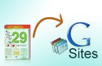 thu thuat google site, am lich, google sites