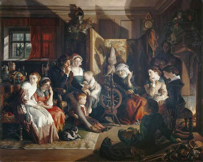 Daniel Maclise - A Winter Night's Tale