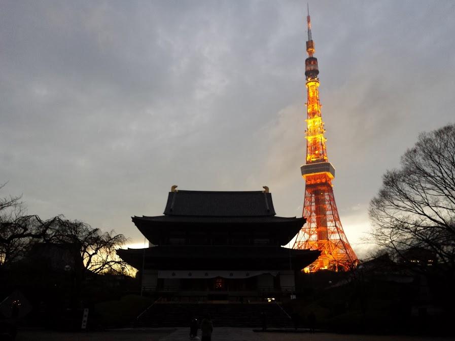 tokyo tower zojoji