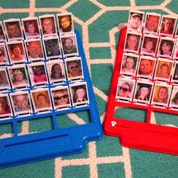 Homemade 'Guess Who?' Game