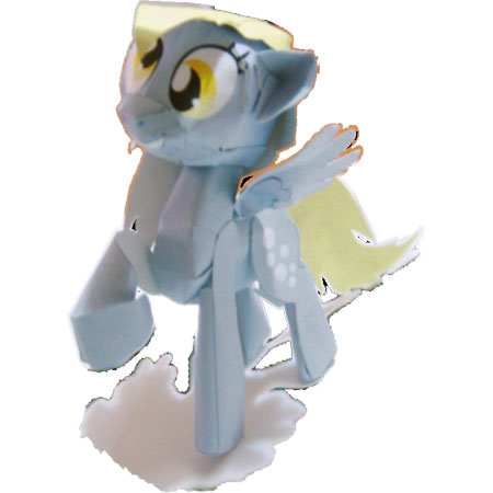 My Little Pony Papercraft Derpy