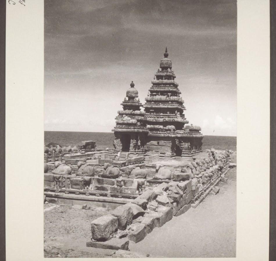 India, nr  Madras: Seven pagodas  Seven pagodas ([is the] European