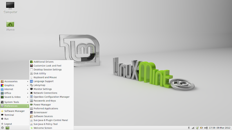Linux Mint 12 LXDE Released | ZDNet