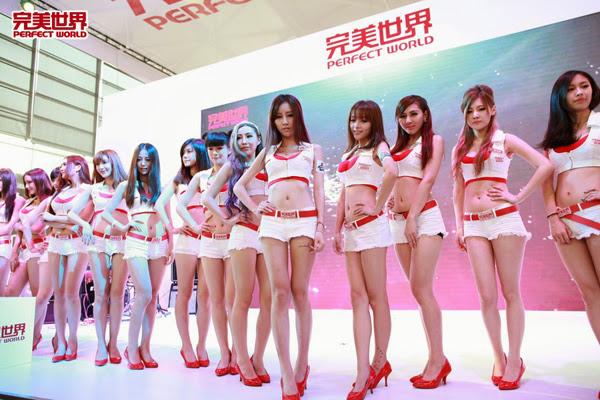 Ngắm dàn mỹ nữ của Perfect World tại ChinaJoy 2013 31