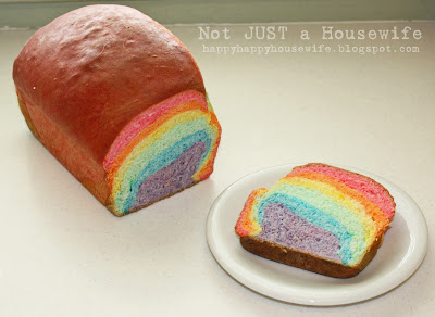 2 Rainbow Bread