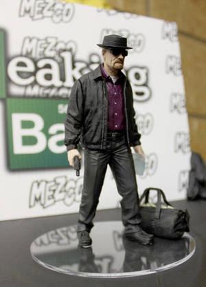Walter toma forma gracias a Mezco Toys