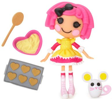 mini Lalaloopsy Crumbs Sugar Cookie