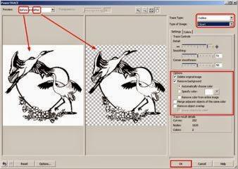 Merubah gambar jpg dan bitmap menjadi vektor  dalam 1 menit