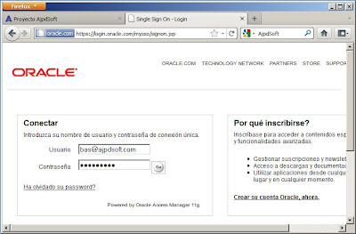 Ficheros de instalación de Oracle Database 10g Release 2 x64