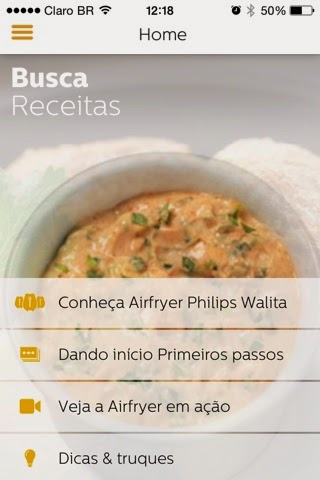aplicativo Philips Walita