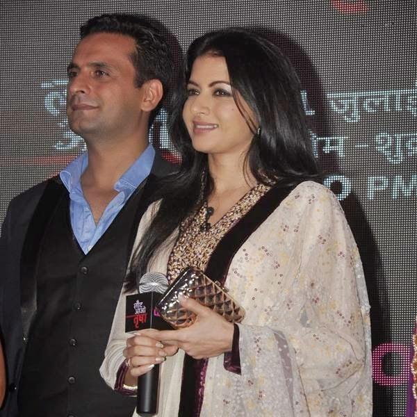 Bhagyashree and Jai Kalra during the launch of the TV serial Laut Aao Trisha, held at Westin Mumbai. (Pic: Viral Bhayani)