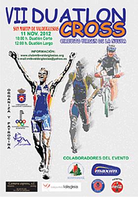 VII Duatlón Cross San Martín Valdeiglesias, domingo 11 de noviembre 2012