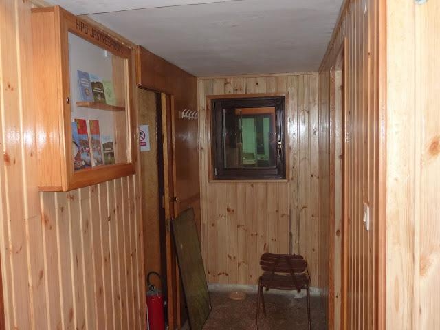 Uređenje hodnika u planinarskom domu Žitnica