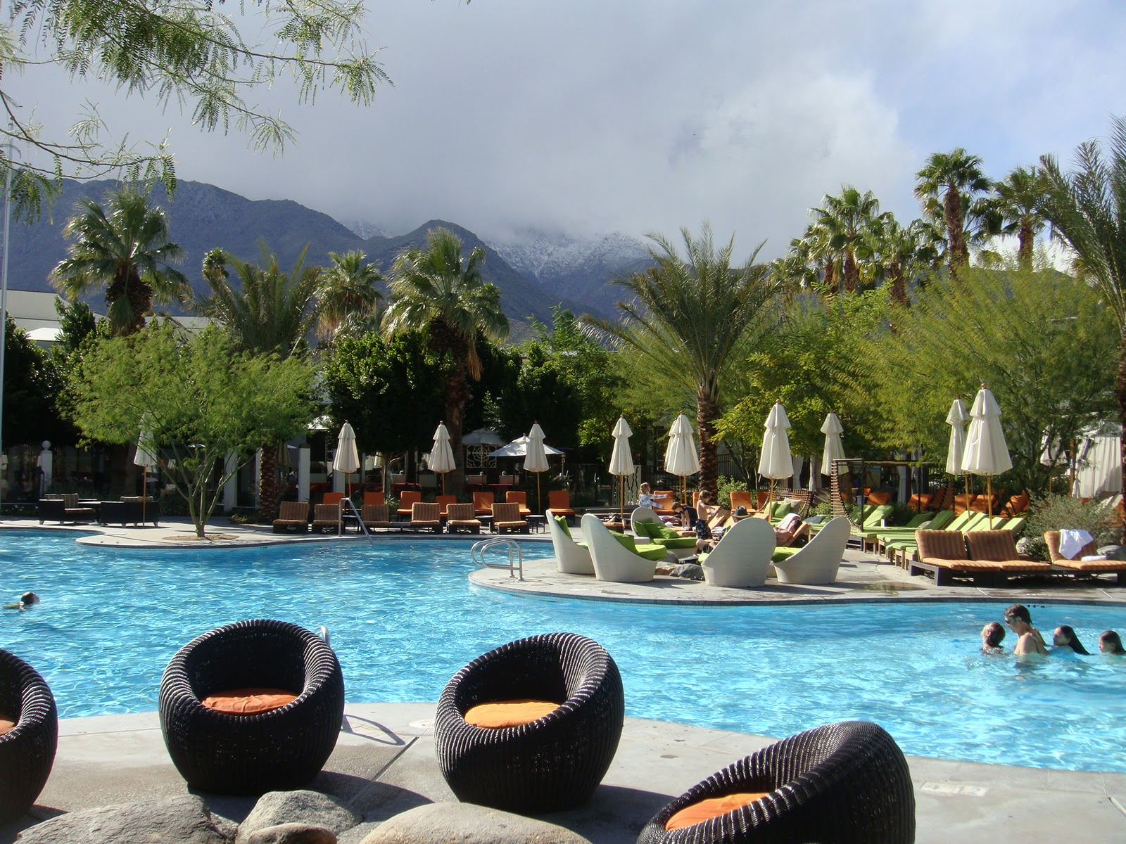 Poolside at riviera palm springs sealaura for The riviera palm springs ca
