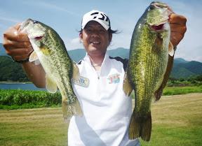 8位 田中健治プロ 2本 1,140g