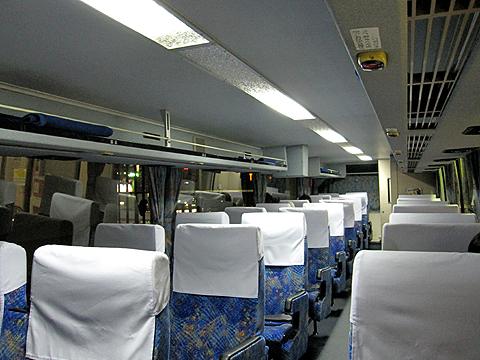 西日本鉄道「桜島号」 9909 車内
