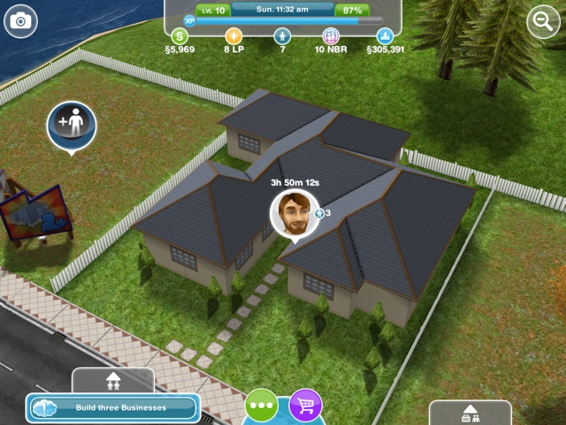 The Sims Freeplay Designer home pictures ~ The Chronicles of A ...