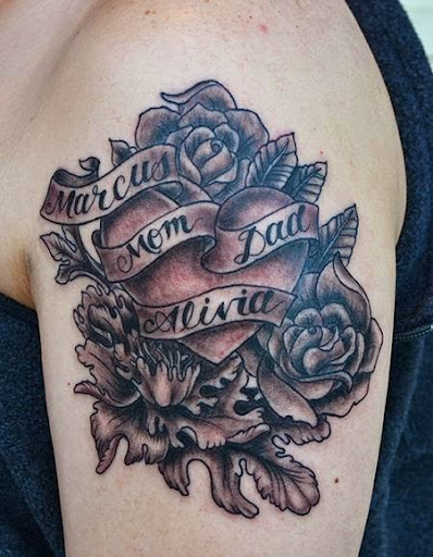 56 great rose tattoo ideas when life meets style for Tattoos with roses and hearts