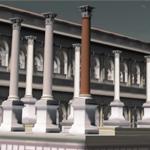 Roman Forum reconstruction