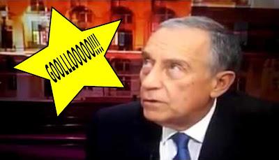 Redacção Da TVI Festeja Golo Do Sporting Em Directo Interrompendo Marcelo Rebelo De Sousa