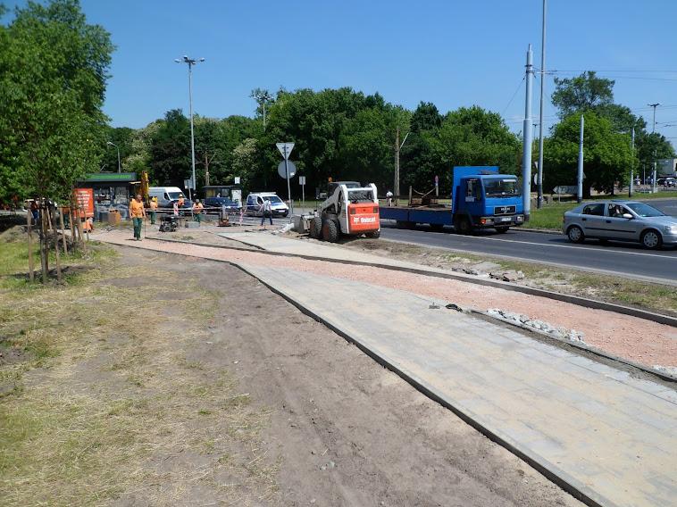 Krzyżówki chodników i drogi dla rowerów
