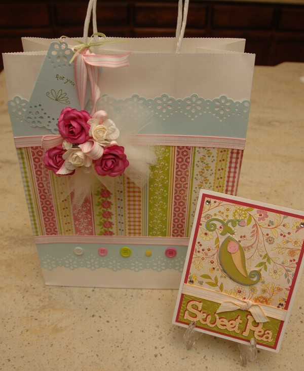 monique griffith designs baby shower gift bag card by nana susan