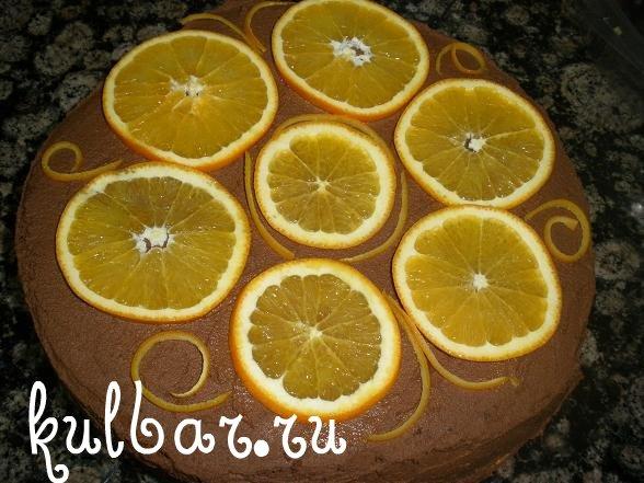 Апельсиновый торт рецепт с фото