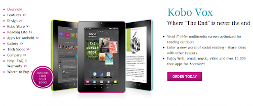 Buy the Kobo Vox