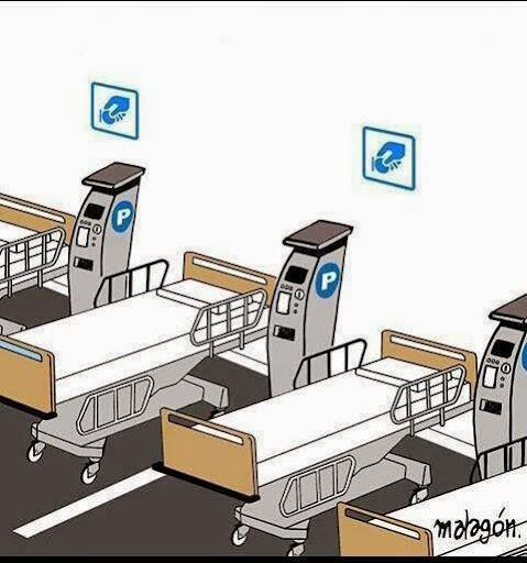 Cartoons - O futuro breve do sistema nacional de saúde