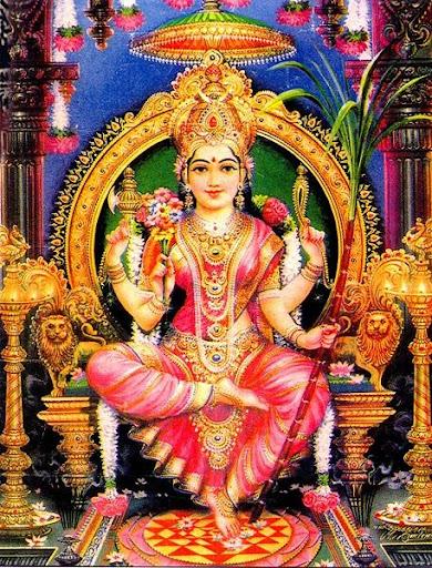 Goddess Tripura Sundari Image