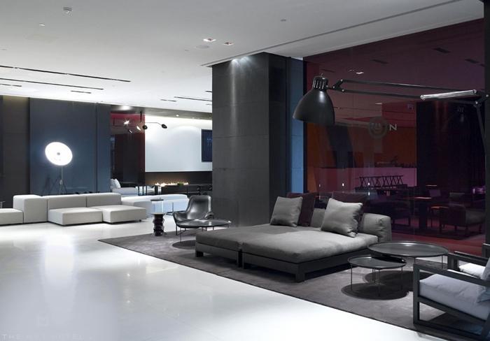 Casas minimalistas y modernas un hotel de lineas for Casa minimalista uy