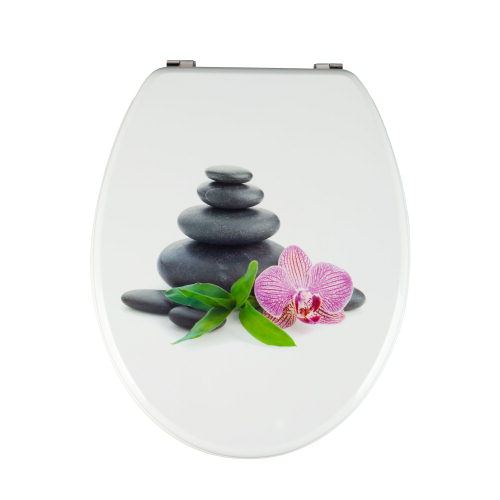 klodeckel toilettendeckel wc deckel orchidee neu ebay
