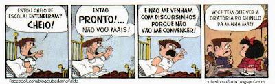 Clube da Mafalda:  Tirinha 730