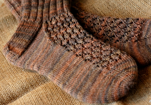 Knitted socks {tettidesign}