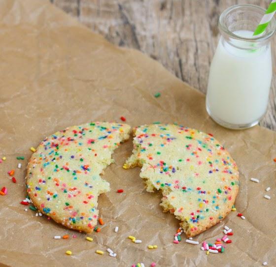 photo of a cookie broken in half