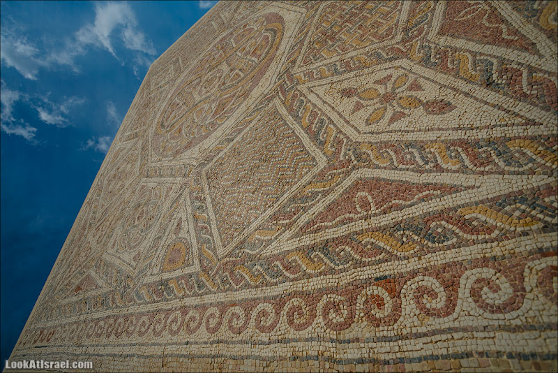 Мозаики от «Доброго самаритянина» (israel  путешествия иудея и самария и интересно и полезно выставки музеи фестивали  20130215 good samaritan mosaic 001 5D3 8348)