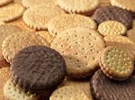 Une vue des biscuits.
