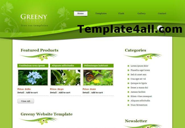Free Nature Green Ecology Phpfusion Theme