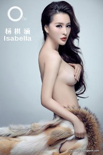 Model Isabella Yang Qihan Trung Quốc 18+