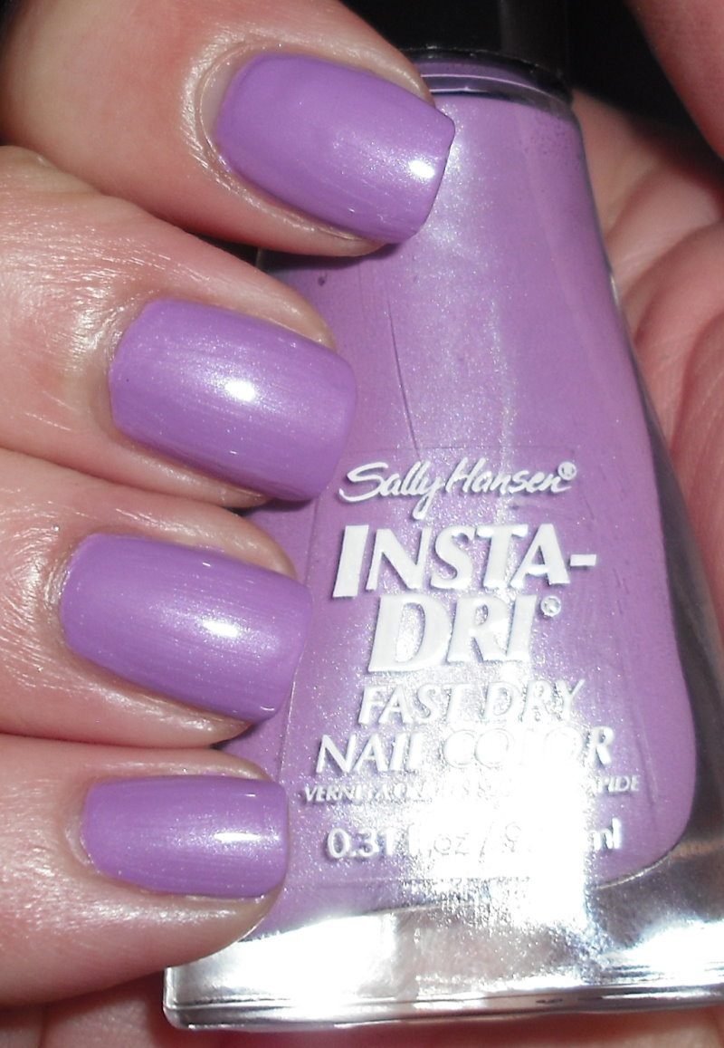 Imperfectly Painted Sally Hansen Lively Lilac