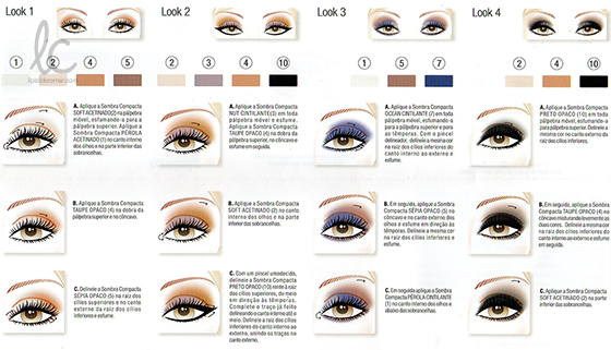 Contém 1g | Kit Smokey Eyes