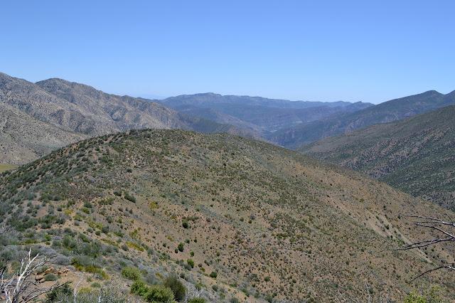 trail along the ridge
