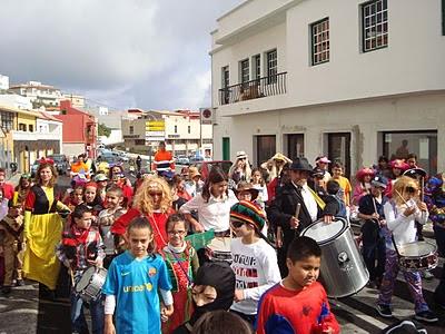 Resultado de imagen de Valverde  carnaval cabalgata el hierro