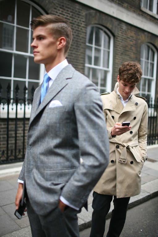 *英國倫敦時裝周場外街拍:攝影師Kuba Dabrowski捕捉街頭英倫紳士! 23