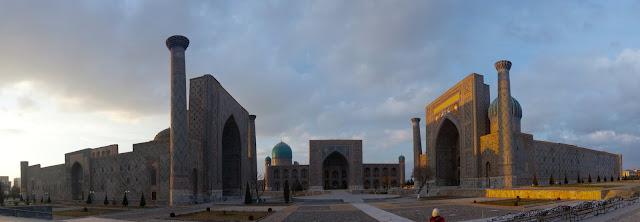 La Plaza Registán de Samarcanda