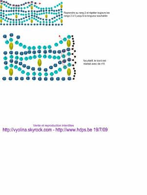 Схемы: Схема браслета