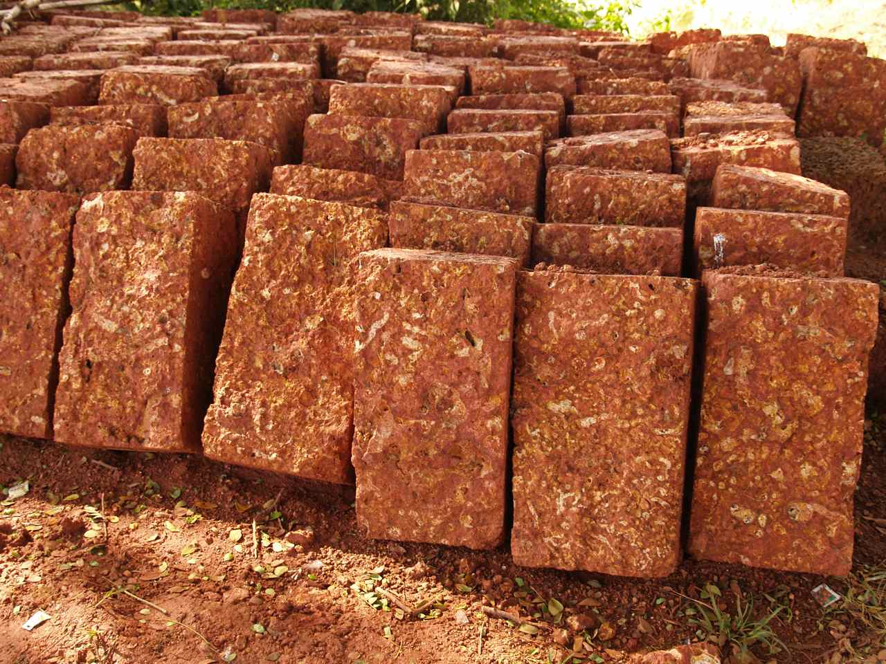 Laterite stone for Brick types and styles